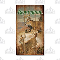 Remington Flying Targets Wood Sign