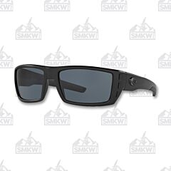 Costa Rafael Blackout Matte Plastic Sunglasses