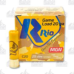 "RIO 20 Gauge 3"" 1250 FPS Max Dram 1.25 OZ #6 Shot"