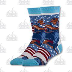 Oooh Yeah! Rosie the Riveter Men's Crew Socks