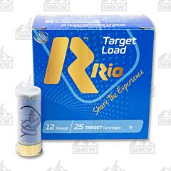 "RIO Target Load 12 Gauge 2 3/4"" Dram 1 1/8 oz 7.5 Shot 25 Rounds"