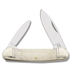 Rough Ryder White Smooth Bone Canoe