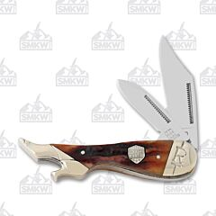 Rough Ryder Brown Stag Bone Lady Leg