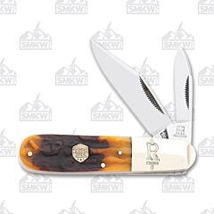 Rough Ryder Brown Stag Bone Barlow