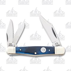 Rough Ryder Blue Smooth Bone Whittler