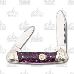 Rough Ryder Purple Sparkle Mini Canoe