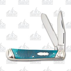 Rough Ryder Black & Blue Series Trapper