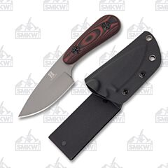 Rough Ryder Fixed Blade Red and Black G-10