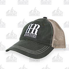 Rough Ryder Logo Cap Olive Tan