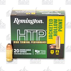 Remington HTP Ammo 380 Auto 88 Grain JHP 20 Rounds