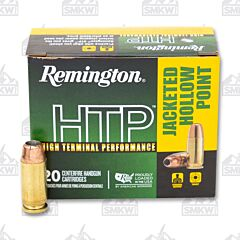 Remington HTP Ammo 40 S&W 155 Grain JHP 20 Rounds