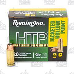 Remington HTP Ammo 40 S&W 155 Grain JHP 20 Rounds