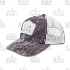 Outdoor Cap Realtree Fishing Hat Gray and White