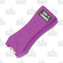 Sabre S-1005 Stun Gun Plus Flashlight Purple
