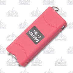 Sabre S-1007 Short Stun Gun Plus Flashlight Pink