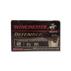 """Winchester PDXI Defender 12 Gauge 2.75"""" 12 oz 00 Buckshot Over 1 oz Slug Bonded 10 Rounds"""