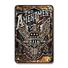 Signs 4 Fun 2nd Amendment Tin Sign