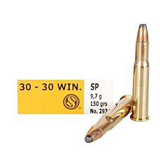 Magtech Sellier & Bellot 30-30 Winchester 150 Grain Jacketed Soft Point 20 Rounds