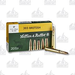 Sellier & Bellot 303 British 180 Grain Soft Point 20 Rounds