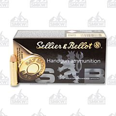 Sellier & Bellot 357 Magnum 158 Grain Full Metal Jacket 50 Rounds