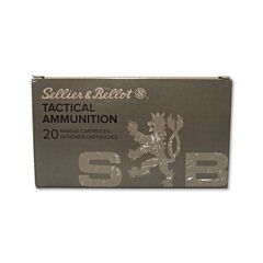 Sellier & Bellot 6.5  Creedmoor 140 Grain Full Metal Jacket Boat Tail 20 Rounds