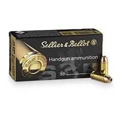 Magtech Sellier & Bellot 9mm Luger 115 Grain Jacketed Hollow Point 50 Rounds