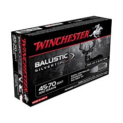 Winchester Ballistic Silvertip 45-70 Government 300 Grain Rapid Controlled Expansion Polymer Tip 20 Rounds
