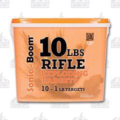 Sonic Boom 1LB Rifle Target 10 Pack