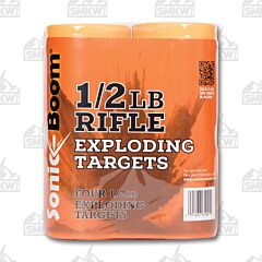 Sonic Boom .5LB Rifle Targets 4 Pack