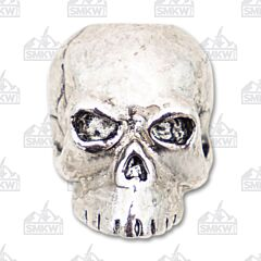 "Schmuckatelli Co. ""Classic"" Antique Rhodium Skull Bead"