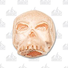 "Schmuckatelli Co. ""Classic"" Matte Rose Gold Skull Bead"