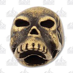 "Schmuckatelli Co. ""Classic"" Roman Brass Skull Bead"