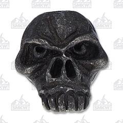 Schmuckatelli Co. Emerson Jumbo Black Oxidized Skull Bead