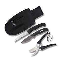 Schrade Old Timer Hunt Prep Kit Stainless Steel Blades
