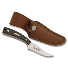 Schrade Old Timer Brown Sawcut Sharpfinger Skinner
