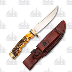 Schrade Uncle Henry 153UH Golden Spike Fixed Blade