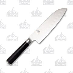 "Shun Classic 7"" Hollow-Ground Santoku"