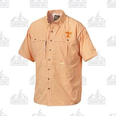 Drake Tennessee Plaid Wingshooter's Short Sleeve Button Down