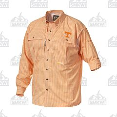 Drake Tennessee Plaid Wingshooter's Long Sleeve Button Down