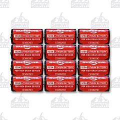 Surefire Batteries 123A 12 Pack