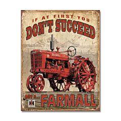 Farmall Tin Sign Model SG1742