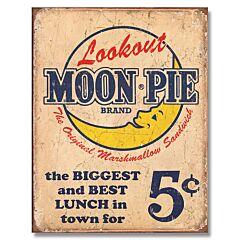 Since 1917 Moon Pie Tin Sign
