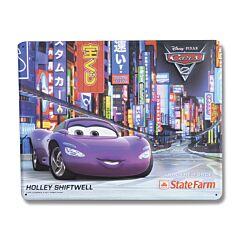 Disney Pixar Cars 2 Holley Shiftwell Tin Sign