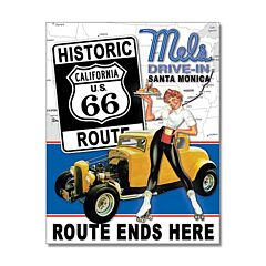 Mels Drive In Tin Sign Model SG2289