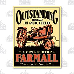 Outstanding Farmall Tin Sign