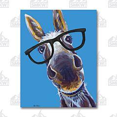 Donkey Tin Sign