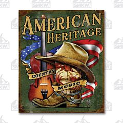 American Country Tin Sign