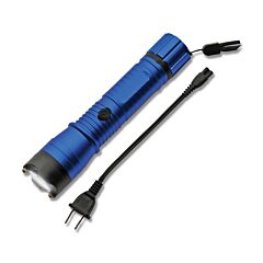 Szco Kwik Force Flashfire Blue Stun Gun Flashlight Model SG-26002BL