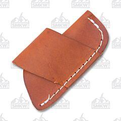 Small Horizontal Wear Leather Sheath