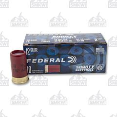 "Federal Shorty Shotshell 12 Gauge 1-3/4"" 8 Shot 10 Rounds"